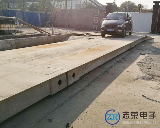 上海60吨汽车地磅出售/6