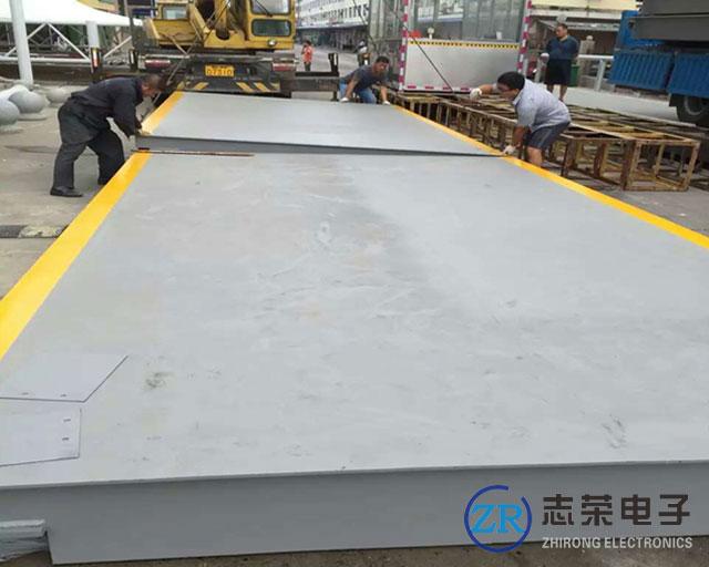 4月2日杭州宏丰市政建造工程采购1台3x15米100吨地磅(建筑工地用)